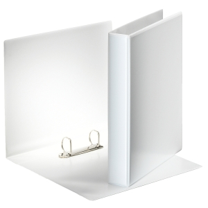 Projektikansio 2-rengainen A4 19 mm, valkoinen