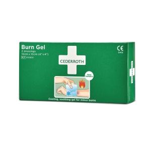 Cederroth Burn gel palovammaside 10 x 10 cm, myyntierä 1 kpl = 2 sidettä