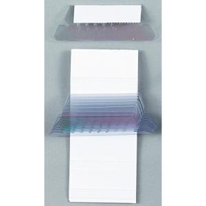 Esselte riippukansio etiketti ja kilpi 50mm kirkas, 1 kpl = 25 etikettiä