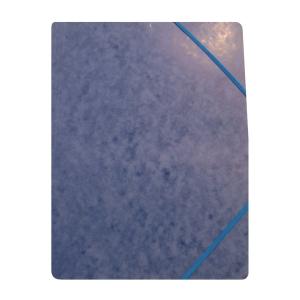 Kulmalukkokansio 105 A4, läpätön sininen