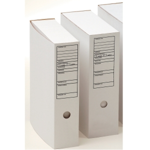 Arkistolaatikko A4 70mm etikettip valkoinen