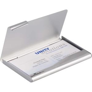 Durable käyntikorttikotelo 20:lle kortille hopea