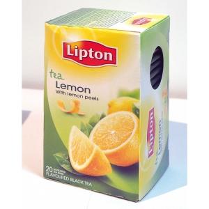 Lipton Sun Lemon tee, myyntierä 1 kpl = 20 pussia