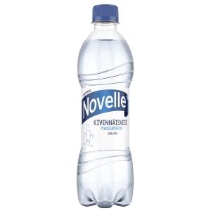Hartwall Novelle kivennäisvesi 0,5 l , me 1 kpl=24 pll