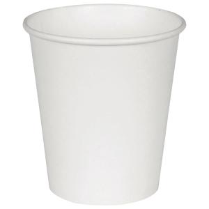 Abena korvaton kartonkipikari 200 ml valkoinen, myyntierä 1 kpl = 50 pikaria