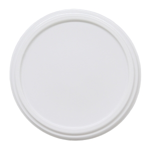 Kansi 100/210 ml valkoinen, myyntierä 1 kpl = 60 kantta POISTO