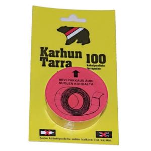 Karhuntarra 20x25mm, 1 kpl = 100 tarraa