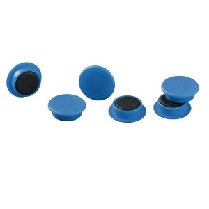 Magneetti 475206, 21mm, sininen, myyntierä 1 kpl = 20 magneettia