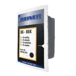 Reiner B6K leimasintyyny, 8 numeroa, musta