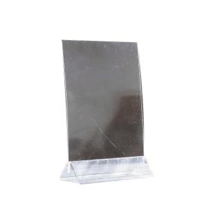 Pöytäteline V150 A5 2-puolinen, kirkas