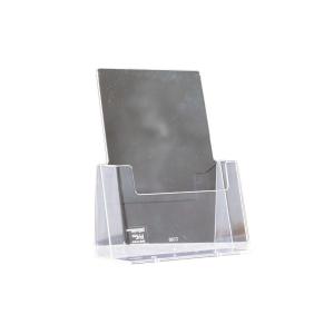 Pöytäteline C160 A5 pystymalli, mitat: 160 x 32 mm, kirkas