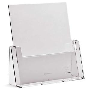 Pöytäteline C230 A4 1-osainen pystymalli, mitat: 230 x 32 mm, kirkas