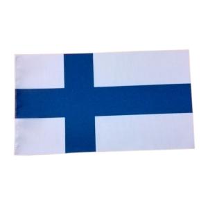 Suomen lippu pöytälipputankoon
