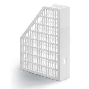 Durable lehtikotelo 1569010 A4, mitat: 234 x 64 x 305 mm, valkoinen