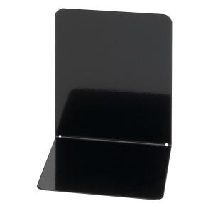 Wedo kirjatuki metalli 14 cm, 120x140x140 mm, musta, myyntierä 1 kpl = 2 tukea