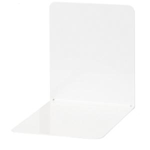 Wedo kirjatuki metalli 14  cm,valkoinen, myyntierä 1 kpl = 2 tukea