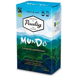 Paulig Mundo Reilun kaupan kahvi suodatinjauhatus 500g