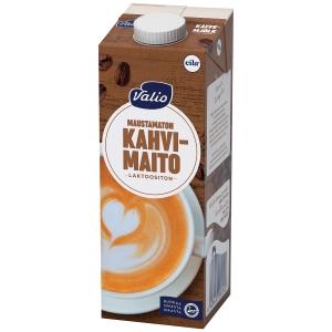Valio kahvimaito laktoositon UHT 1 L