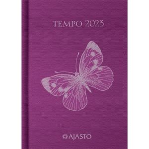 Ajasto Tempo taskukalenteri 105 x 148mm, lila