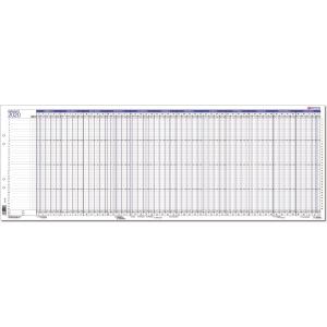 CC 7200 Projekti 2020 seinäkalenteri 835 x 297mm