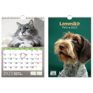 CC 5670 Lemmikit seinäkalenteri 2020 232 x 325 mm