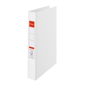 Esselte 14449 2-rengaskansio A4 35mm, PP, valkoinen