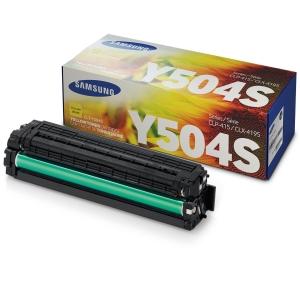 Samsung CLT-Y504S Laservärikasetti keltainen