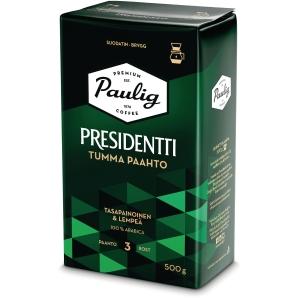 Presidentti kahvi tumma paahto 500g