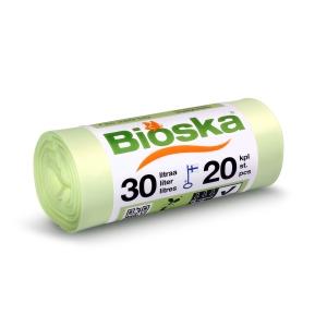 BX20 BIOSKA BIOWASTEBAG 30L