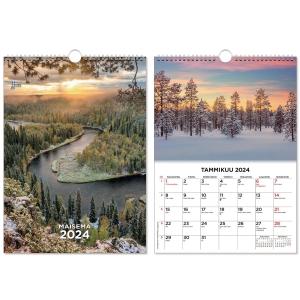 CC 5529 Suuri maisemakalenteri seinäkalenteri 300 x 400 mm
