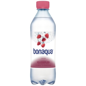 Bonaqua kivennäisvesi villivadelma 0,5L, 1 kpl=24 pulloa