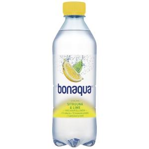 Bonaqua kivennäisvesi sitruuna-lime 0,5 l, me 1 kpl=24pll