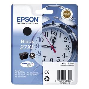 Epson T2711 XL Mustesuihkupatruuna musta