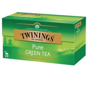 Twinings pure green tee, myyntierä 1 kpl = 25 pussia