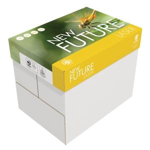 New Future Laser kopiopaperi A4 80g, 8cm rei itys, 1 kpl = 500 arkkia