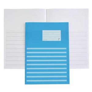 Kirjoitusvihko 409 A4/20 blanko/viivoitettu