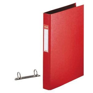 Lyreco 2-rengaskansio A4 40mm, PP, punainen
