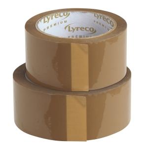 Lyreco Hot Melt pakkausteippi 50mm x 100m, myyntierä 1 kpl = 6 rullaa