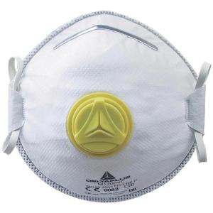 Deltaplus m1200vc FFP2 hengityssuojain, myyntierä 1 kpl = 10 suojainta