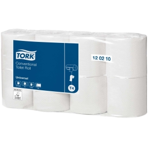 Tork 120210 Universal wc-paperi t4 luonnonvalkoinen, me 1 pakkaus = 64 rll