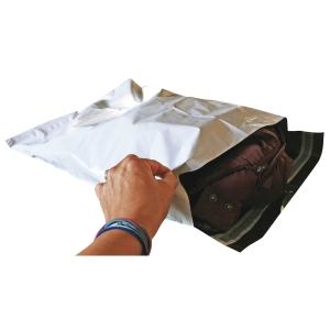 Postituspussi 240 x 350 x 50mm PP, valkoinen