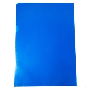 Muovitasku A4 110mic PP sininen appelsiinipinta, myyntierä 1kpl= 100 taskua