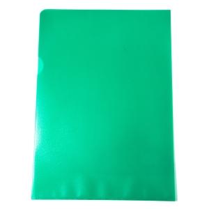 Muovitasku A4 110mic PP vihreä appelsiinipintainen, myyntierä 1kpl= 100 taskua