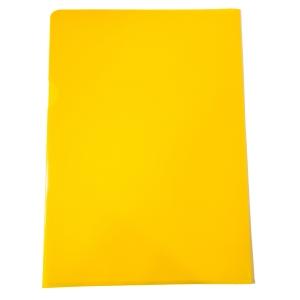 Muovitasku A4 110mic PP keltainen appelsiinipinta, myyntierä 1kpl= 100 taskua