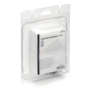 Duracard 8915 korttitulostimen standardi muovikortti valkoinen, 1kpl=100 korttia