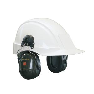 3M peltor optime II kuulosuojain, kypäräkiinnitys