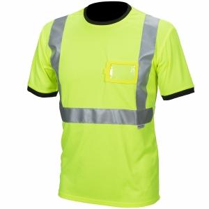 Priha 4080 huomio t-paita keltainen M
