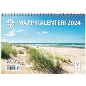 Ajasto Mappikalenteri seinäkalenteri 250 x 352 mm