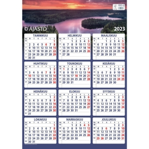 Ajasto Maxi seinäkalenteri 520 x 740 mm