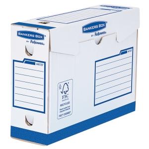 Fellowes arkistolaatikko 100 mm sininen, myyntierä 1 kpl = 20 laatikkoa
